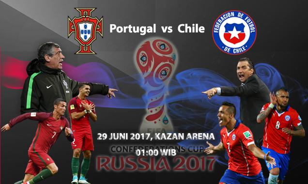 Prediksi Skor Portugal Vs Chile 29 Juni 2017