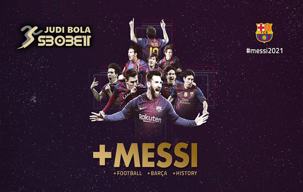 Lionel Messi Resmi Perpanjang Kontrak di Barcelona Hingga 2021
