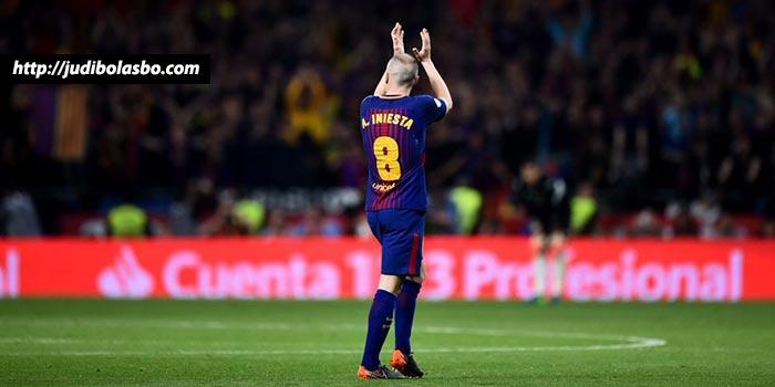 Inilah Momen Terindah Iniesta Bersama Barcelona