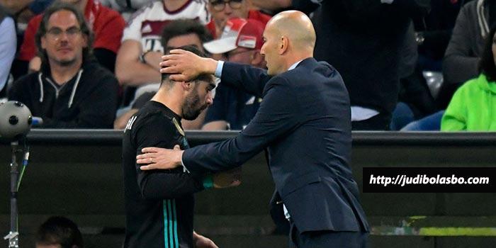 Zidane Beberkan Cedera Isco dan Carvajal