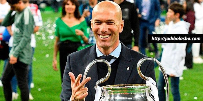 Zidane Tak Mau Juara Liga Champions Lagi di Musim Depan
