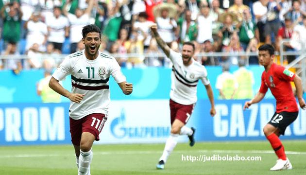 meksiko sukses meraih kemenangan - agen bola piala dunia 2018