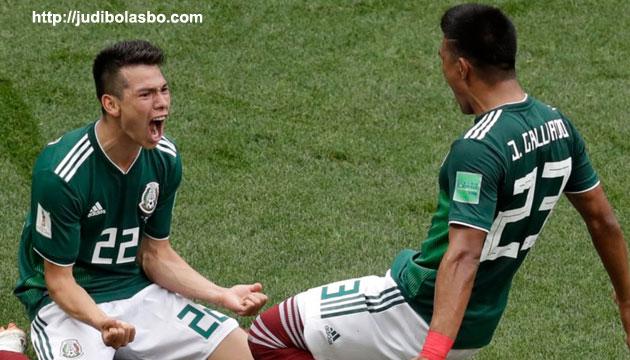 meksiko taklukan jerman, skor pertandingan 1-0 - agen bola piala dunia 2018