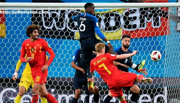 belgia kalah melawan prancis - agen bola piala dunia 2018